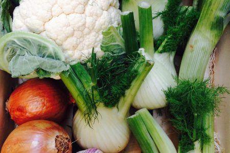 Fruta y verdura ecológica