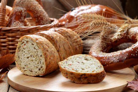 Postres y pan ecológico